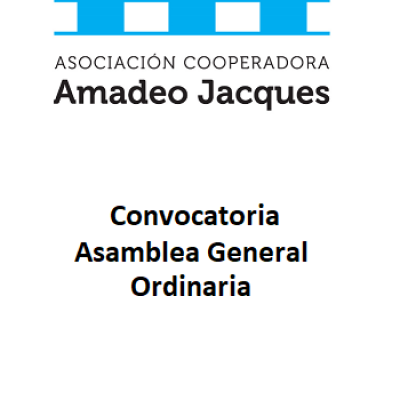 Convocatoria a la Asamblea General Ordinaria